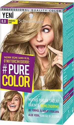 Pure Color 8 0 Vanilyali Tart Sac Boyasi Fiyatlari Ozellikleri Ve