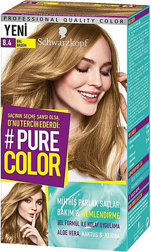 Schwarzkopf Pure Color Sac Boyasi 7 57 Krem Karamel Dermoeczanem Com
