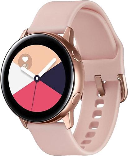 Samsung Galaxy Watch Active Sm R500nzdatur Pembe Akilli Saat Fiyatlari Ozellikleri Ve Yorumlari En Ucuzu Akakce