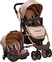 Tommybaby 540 Gold 3 In 1 Travel Sistem Bebek Arabası