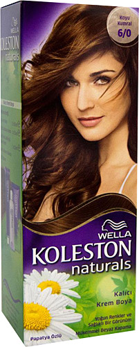 Wella Koleston Naturals 6 0 Koyu Kumral Sac Boyasi Fiyatlari